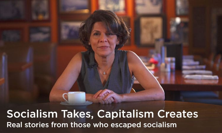 Real stories from those who escaped socialism